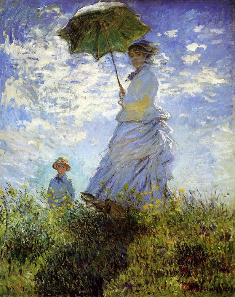Monet-madame-monet-and-her-son